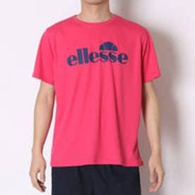 エレッセ ellesse テニスTシャツ プラクティスT ETS16150 マゼンダ  (マゼンダ)