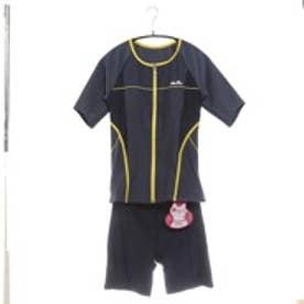 エレッセ Ellesse スイミングウェア(セパレーツ) 5分袖 美セパ ES54222 ブルー