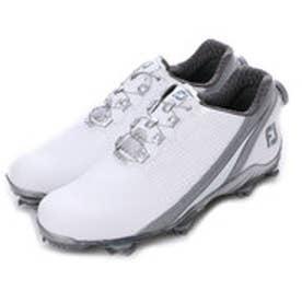 フットジョイ FootJoy ゴルフシューズ 16 DNAボア 53301W245 789 (ホワイト×シルバー)