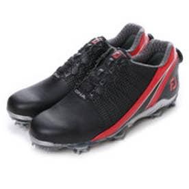 フットジョイ FootJoy ゴルフシューズ 16 DNAボア 53305W245 791 (ブラック×レッド)