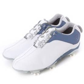 フットジョイ FootJoy ゴルフシューズ FJWDNA94829WB81 ホワイト (ホワイト×ブルー)