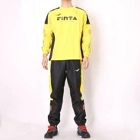 フィンタ FINTA フットサルピステ上下 ロングプラクティスシャツ FTA7017 イエロー×ブラック (イエロー×ブラック)