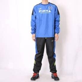 フィンタ FINTA フットサルピステ上下 ロングプラクティスシャツ FTA7017 ブルー×ブラック (ブルー×ブラック)