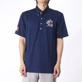 フィラ FILA ゴルフシャツ  FL746-628エB      (ネイビー)
