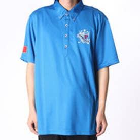 フィラ FILA ゴルフシャツ メンズ ハンソデシャツ 746635  (ブルー)