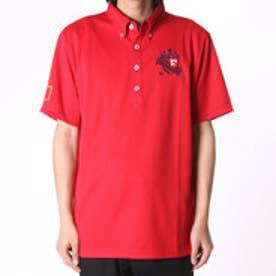 フィラ FILA ゴルフシャツ メンズ ハンソデシャツ 746635  (レッド)