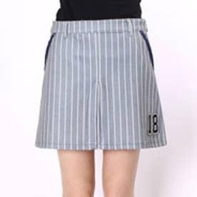フィラ FILA レディース ゴルフ スカート スカート 796302 P3E (グレーストライプ)