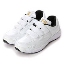 ハイゴールド Hi-GOLD 野球アップシューズ  HG PU8000WH     ホワイト (ホワイト×ホワイト)