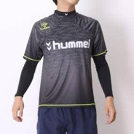 ヒュンメル hummel サッカープラクティスシャツ+長袖インナーセット HPFC-プラシャツインナーセット HAP7092 ブラック (ブラック)