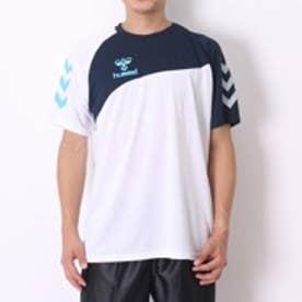 ヒュンメル hummel ハンドボールシャツ HAY2060 ホワイト (ホワイト)