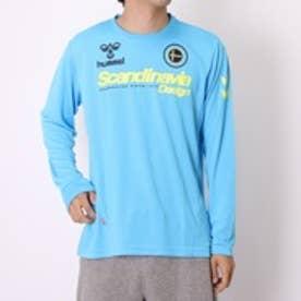 ヒュンメル hummel ハンドボールシャツ ロングTシャツ HAP7094    ブルー (ブルー)