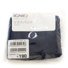 イグニオ Ignio リストバンド IG-9C12118ロゴ10 ネイビー