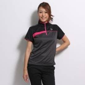 イグニオ IGNIO テニスシャツ  2637020225 グレー (ダークグレー BK)