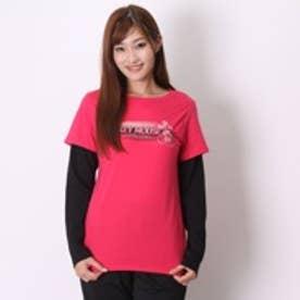 イグニオ IGNIO Tシャツ   ピンク (ローズ)