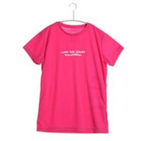 イグニオ IGNIO バレーボールTシャツ IG-8VW2026TSTM ピンク (チェリーピンク)