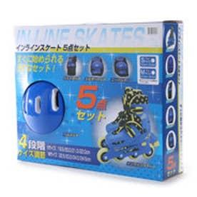 ジャパーナ JAPANA ジュニアインラインスケートセット  JR インラインB S