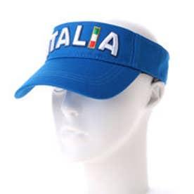 カッパ Kappa ゴルフキャップ バイザー(ITALIA) KG618HW53 (イタリアンブルー)