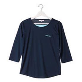 ケイパ kaepa レディース 長袖Tシャツ ケイパ フルダル7ブソデTシャツ KPL13210 (ネイビー)