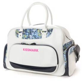 キスマーク kissmark ボストンバッグ  KM-0J205BB (ホワイト×ネイビー)