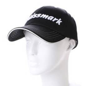 キスマーク kissmark ゴルフキャップ  KM-1C116CP                    (ブラック)