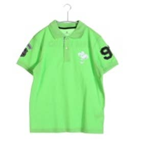 キスマーク kissmark ゴルフシャツ  KM-1H016P グリーン (ペールグリーン)