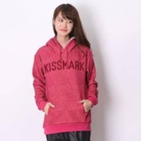 キスマーク kissmark パーカー  KM-9I605DMシャギー ピンク