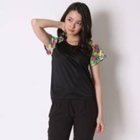 キスマーク kissmark ランニングTシャツ  KM-3I506 16SS (ブラック)