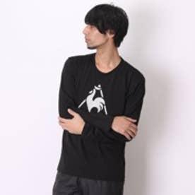 ルコックスポルティフ le coq sportif Tシャツ ナガソデシャツ QL-131253A ブラック