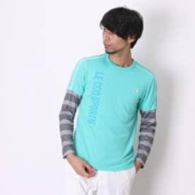 ルコックスポルティフ le coq sportif 長袖Tシャツ QB-110253 グリーン (エメラルドグリン)