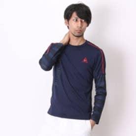 ルコックスポルティフ le coq sportif 長袖Tシャツ QB-110253 ネイビー (ネイビー)
