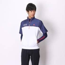 ルコックスポルティフ le coq sportif ゴルフトレーナー カツトソー(ナガソデ) QG5583CP (ネイビー)