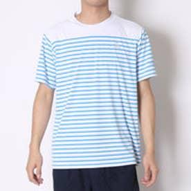 ルコックスポルティフ le coq sportif テニスTシャツ ハンソデシヤツ QT-010361 ブルー (アス゛ールフ゛ルー)