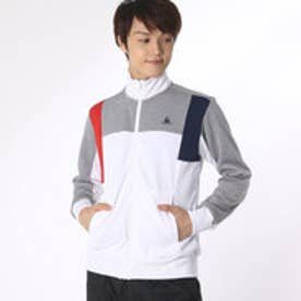 ルコックスポルティフ le coq sportif メンズ テニス ウインドブレーカー スウェットジャケット QT-560163 (ホワイト)
