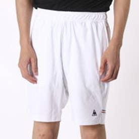 ルコックスポルティフ le coq sportif メンズ テニス ハーフパンツ ゲームパンツ QT-384165 (ホワイト)