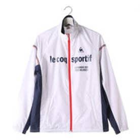 ルコックスポルティフ le coq sportif メンズ ウインドジャケット ウインドジャケット QB-571563A (ホワイト)