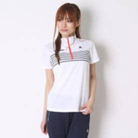 ルコックスポルティフ le coq sportif ポロシャツ ハーフジップ半袖シャツ QB-716161A
