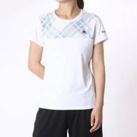 ルコックスポルティフ le coq sportif レディース テニス 半袖Tシャツ 半袖シャツ QT-015463 (ホワイト)