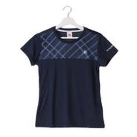 ルコックスポルティフ le coq sportif レディース テニス 半袖Tシャツ 半袖シャツ QT-015463 (ネイビー)
