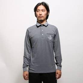 マンシングウェア Munsingwear ゴルフシャツ ナガソデシヤツ(ニツト) SG1315 (ネイビー)
