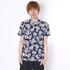 マンシングウェア Munsingwear ゴルフシャツ 半袖シヤツ(ニツト) RM1585 (ネイビー)