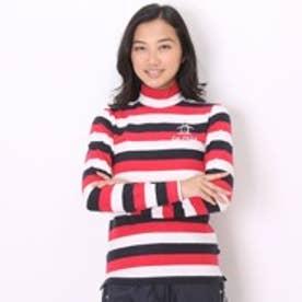 マンシングウェア Munsingwear ゴルフシャツ 長袖ニット SL1267 (レッド)