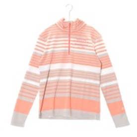 マンシングウェア Munsingwear ゴルフシャツ 長袖ニット SL1256 (オレンジ)