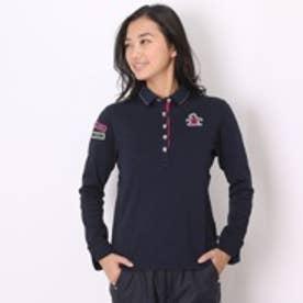 マンシングウェア Munsingwear ゴルフシャツ 長袖ニット SL1251 (ネイビー)