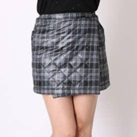 マリ クレール marie claire ゴルフキュロットスカート  735-919 ブラック (ブラック)