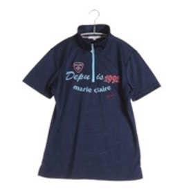 マリ クレール marie claire  ゴルフシャツ レディス 半袖シャツ 716622