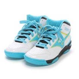 ミズノ MIZUNO ジュニアバスケットボールシューズ W1GC157025 ホワイト