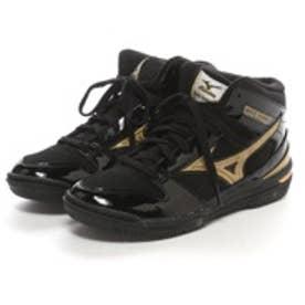 ミズノ MIZUNO ジュニアバスケットボールシューズ W1GC157050 ブラック