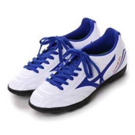 ミズノ MIZUNO ジュニアサッカートレーニングシューズ モナルシーダFSJr.AS P1GE162327 ホワイト 2732 (ホワイト×ブルー)