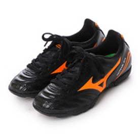 ミズノ MIZUNO ジュニアサッカートレーニングシューズ モナルシーダFSJr.AS P1GE162354 ブラック 2733 (ブラック×オレンジ)