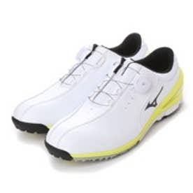 ミズノ MIZUNO ダイヤル式ゴルフシューズ 51GM152692 ホワイト